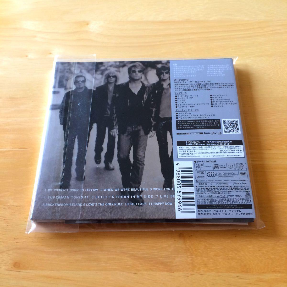 【美品】ボン・ジョヴィ/ザ・サークル(デラックス・エディション)[DVD付初回生産限定盤]
