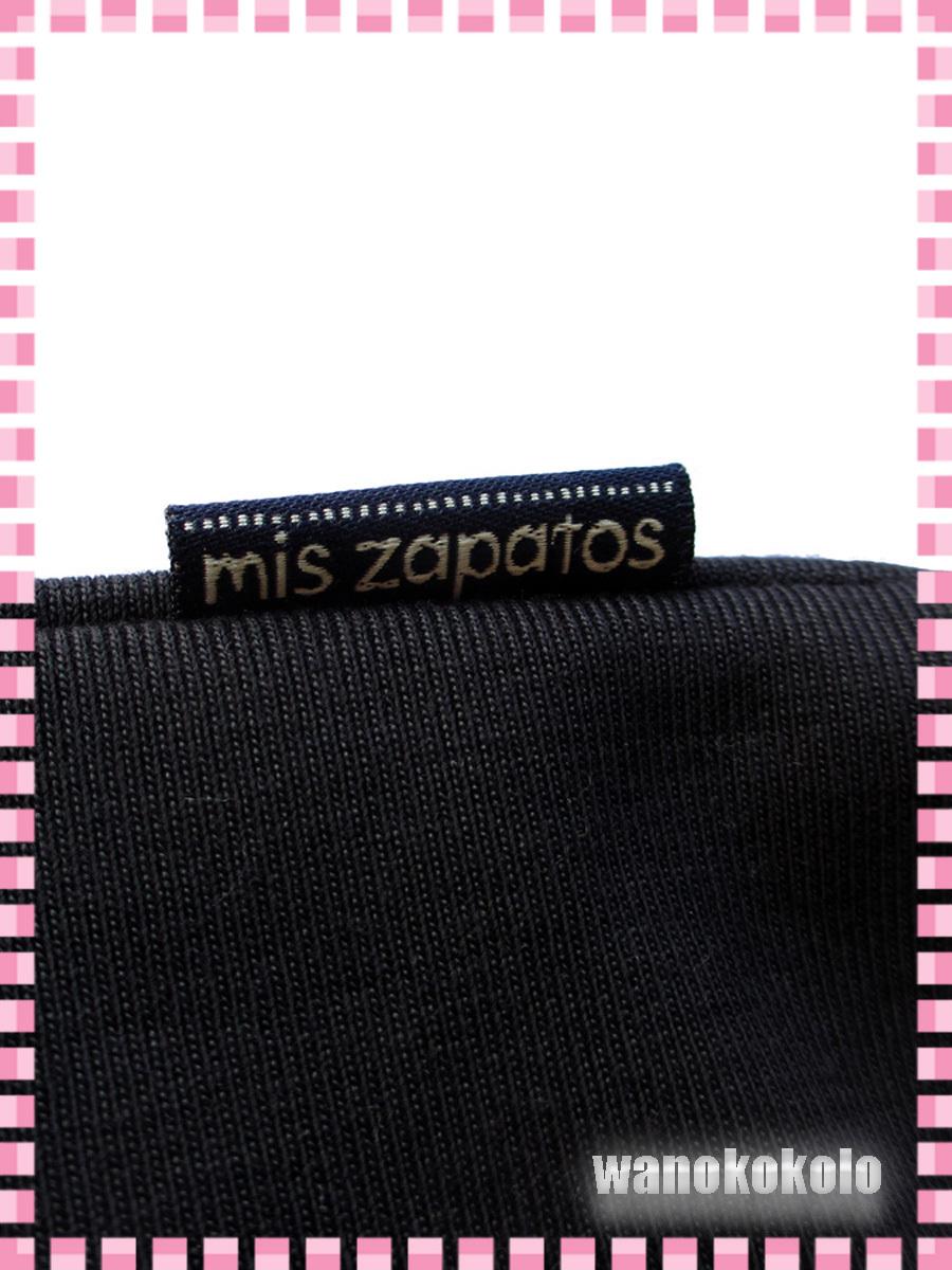 【和の志】mis zapatosミスサパト着物トートバック◇スウェット素材 ブラック系 B-6462-BK_画像8