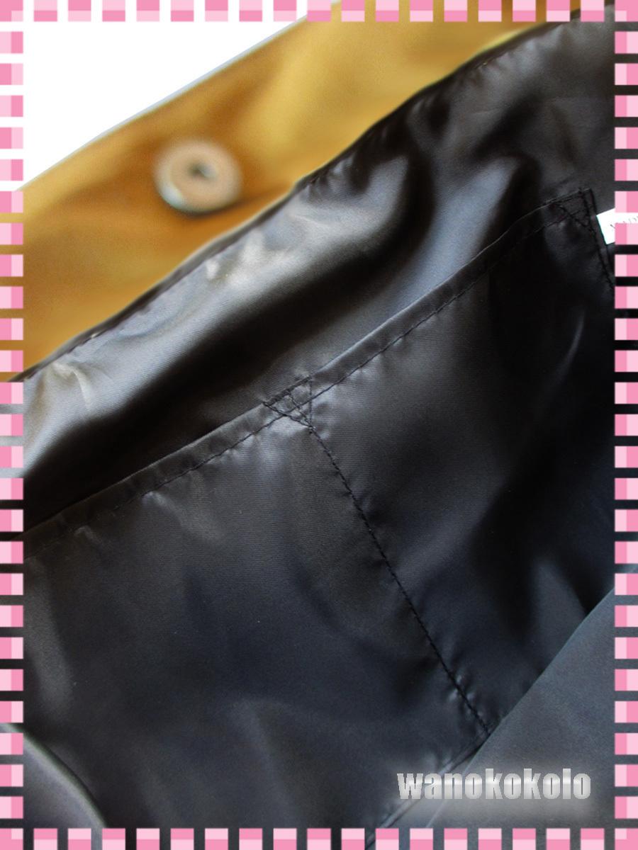 【和の志】mis zapatosミスサパト着物トートバック◇スウェット素材 ブラック系 B-6462-BK_画像7