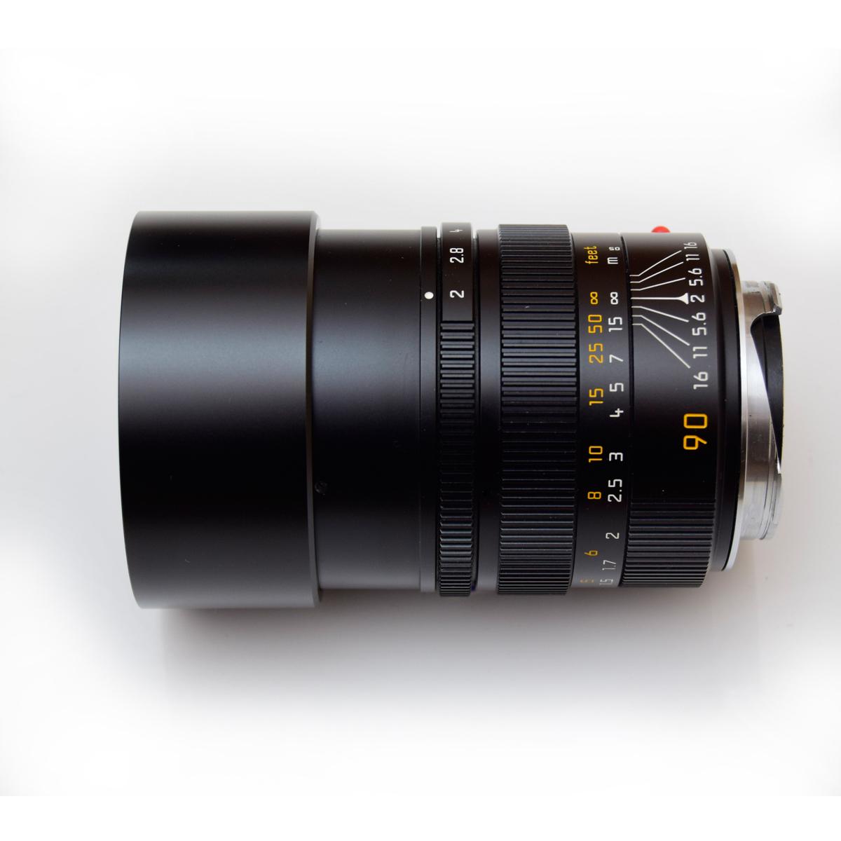 ★LEICA ★ライカ summicron-M ズミクロン 90mm F2 E55