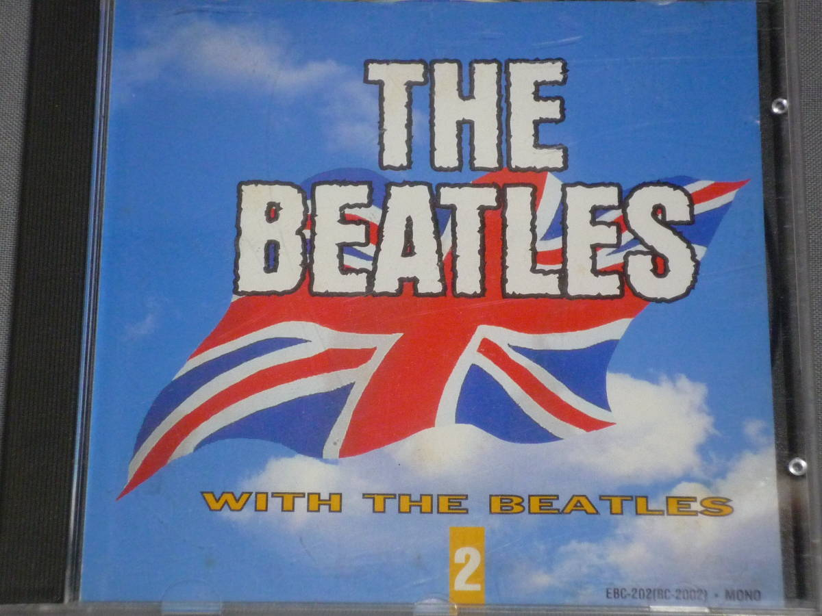 K43 ザ・ビートルズ THE BEATLES WITH THE BEATLES 2 [CD]_画像1
