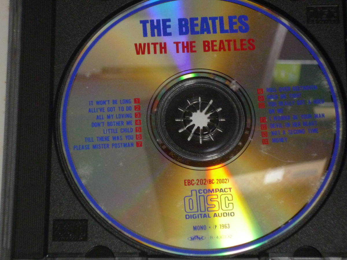 K43 ザ・ビートルズ THE BEATLES WITH THE BEATLES 2 [CD]_画像2