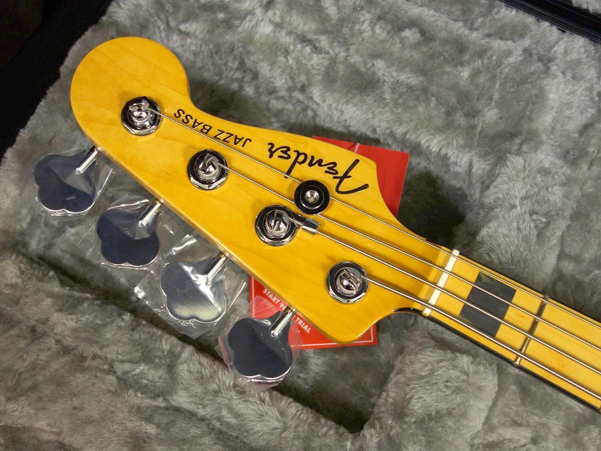 新品 「Fender USA 【American Ultra Jazz Bass Cobra Blue 】」_画像5