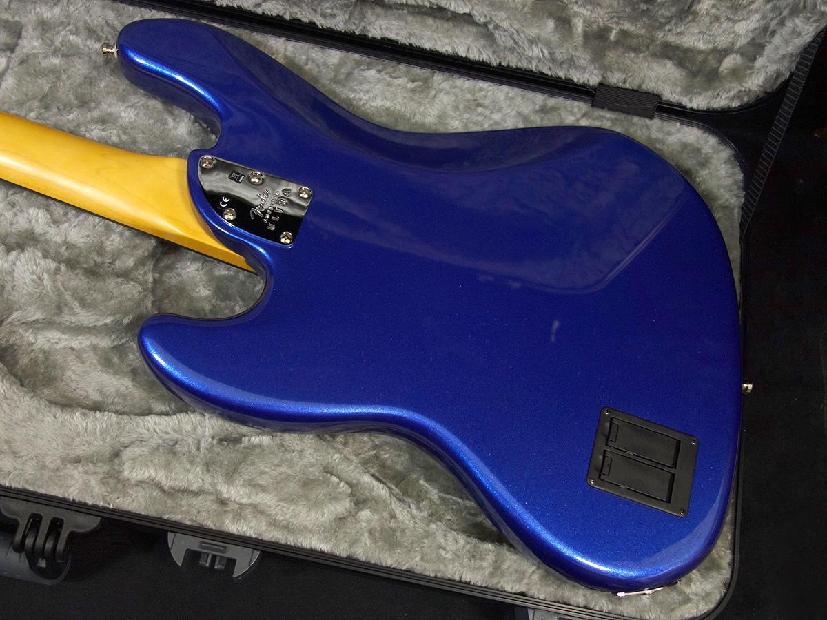 新品 「Fender USA 【American Ultra Jazz Bass Cobra Blue 】」_画像7