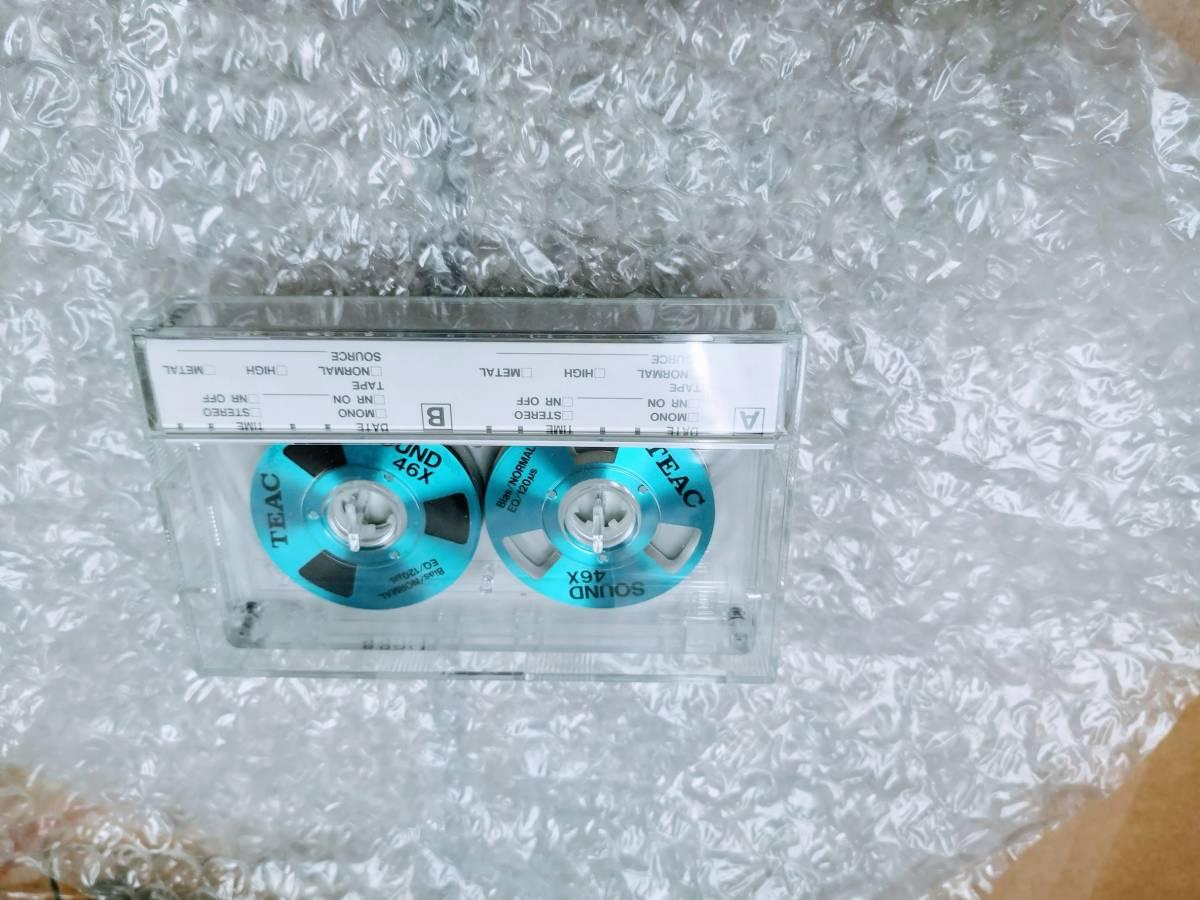 ★値下げ交渉有り TEAC カセットテープ デッドストック 未開封9本 + 開封一本 オープンリール風_画像1