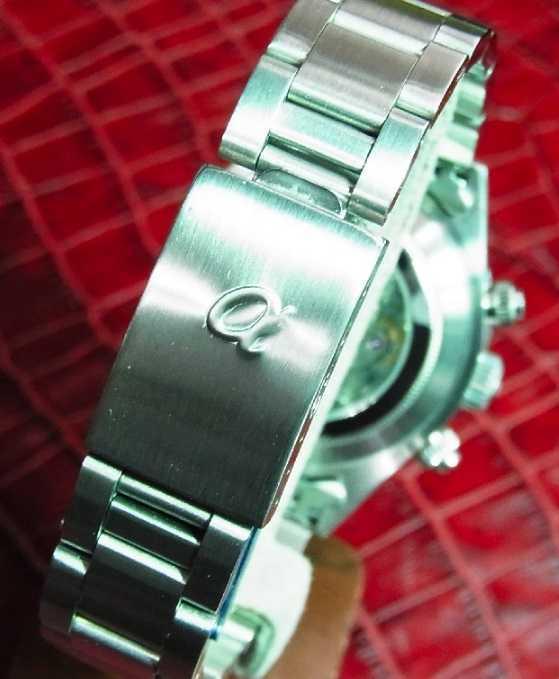 アルファウォッチ クロノグラフ ポールニューマンデイトナデザイン オマージュウォッチ 機械式 ヴィンテージ 腕時計 No4_画像3