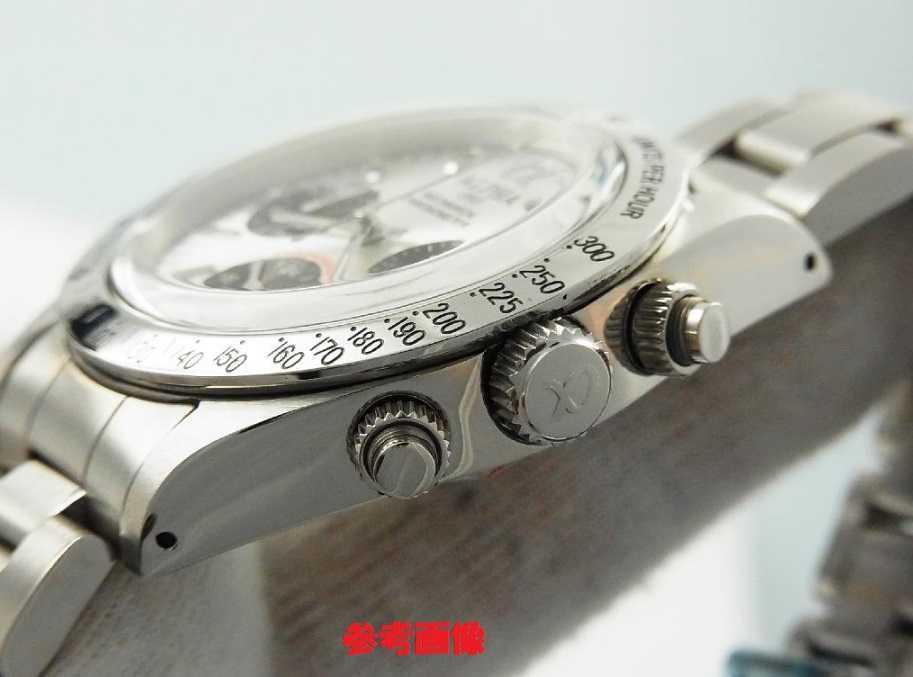 アルファウォッチ クロノグラフ ポールニューマンデイトナデザイン オマージュウォッチ 機械式 ヴィンテージ 腕時計 No3_画像3