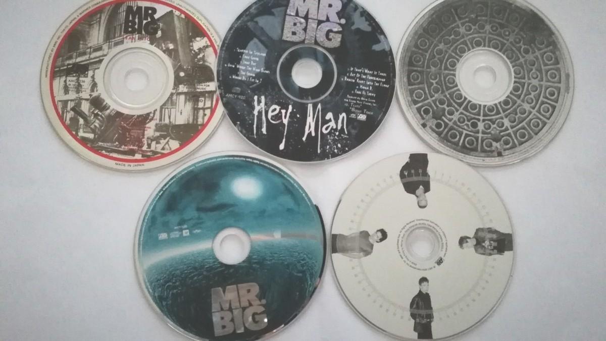 ミスタービッグ MR .BIG アルバム5枚 ケース無し