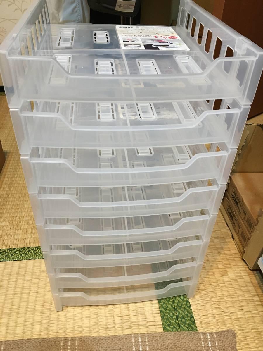 A4ラック(縦型) 8個セット / レタートレー デスクトレー☆.。.:*・゜_画像2