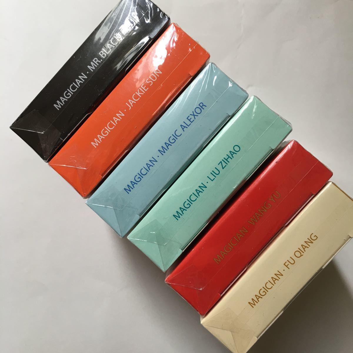 Magic Notebook Deck Bocopo Playing Cards Dai Vernon 新品 6デックセット_画像3
