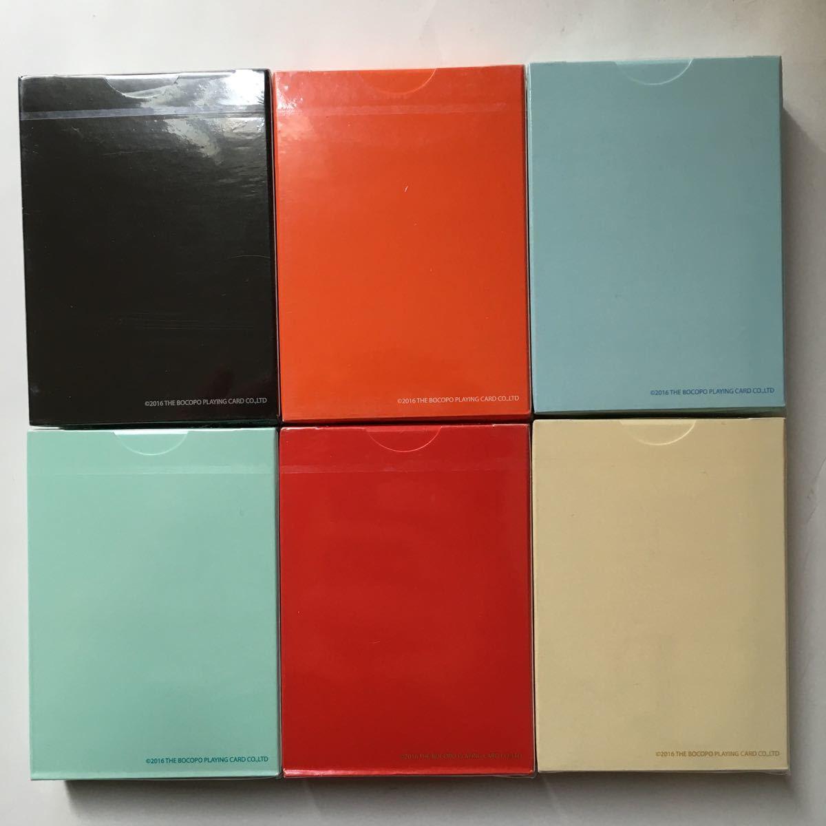 Magic Notebook Deck Bocopo Playing Cards Dai Vernon 新品 6デックセット_画像2