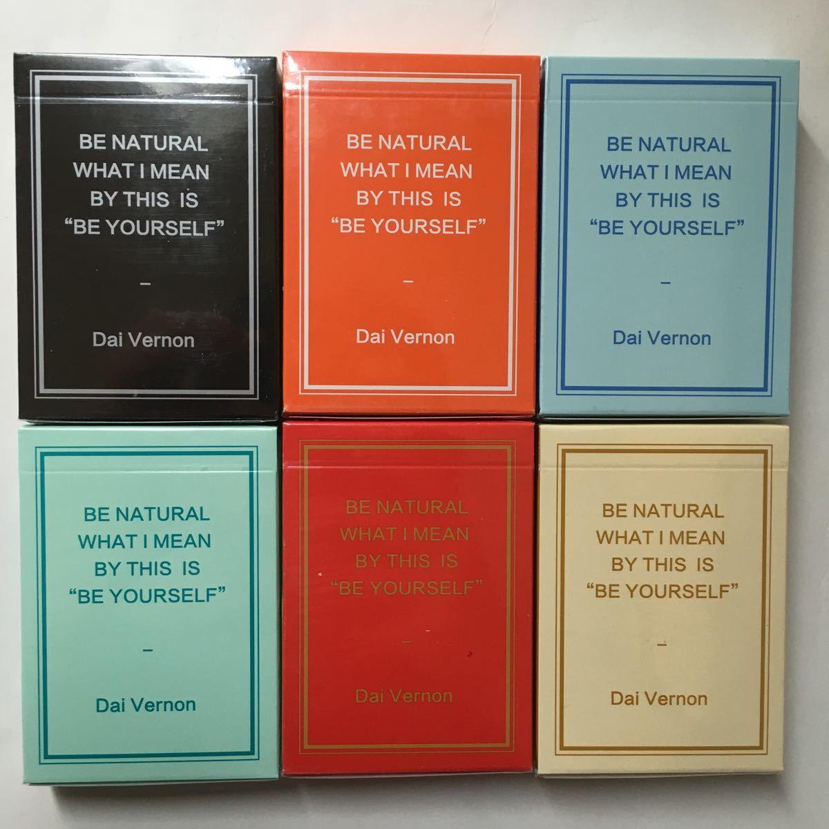 Magic Notebook Deck Bocopo Playing Cards Dai Vernon 新品 6デックセット_画像1