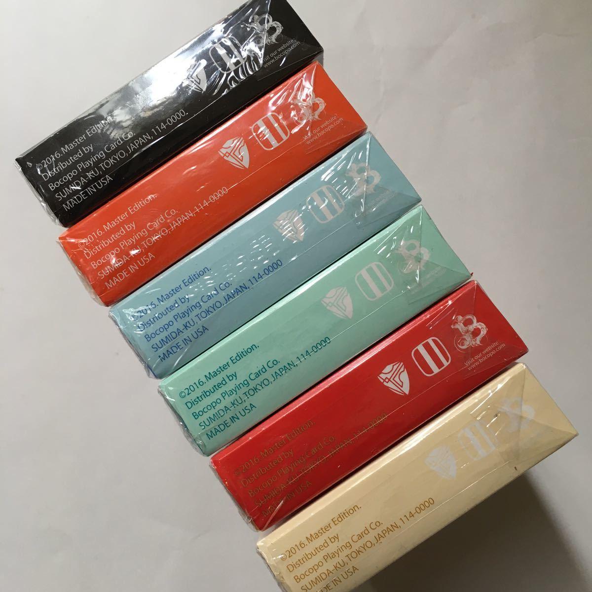 Magic Notebook Deck Bocopo Playing Cards Dai Vernon 新品 6デックセット_画像5