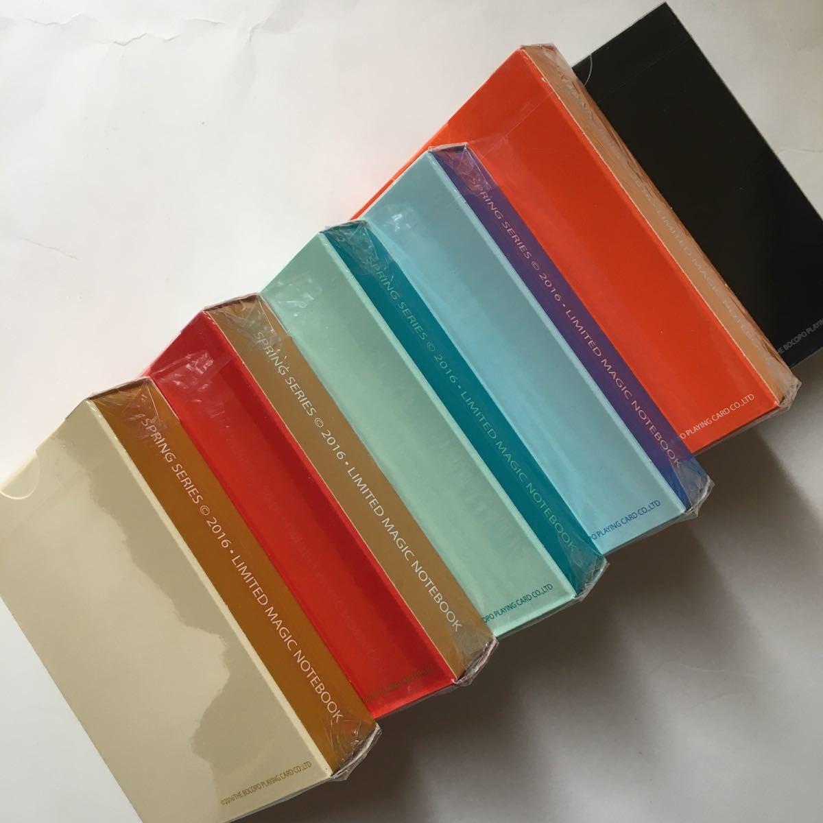 Magic Notebook Deck Bocopo Playing Cards Dai Vernon 新品 6デックセット_画像8