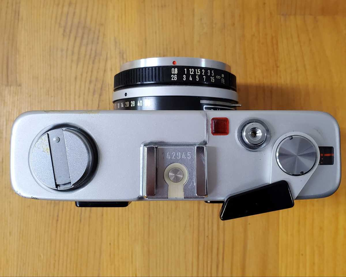 MINOLTA ミノルタ HI-MATIC F カメラ ROKKOR F=38mm 1:2.7_画像3