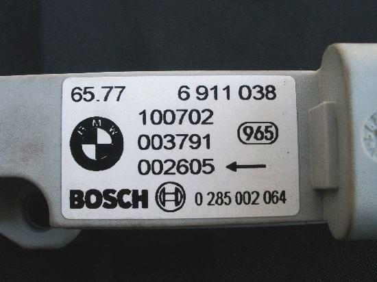 BMWツーリングE46M3サイドエアバッグセンサー318iクラッシュセンサー320i左323i325i328i330i316i330Ciクーペ318CiカブリオレMスポーツAY20_画像3