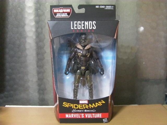 未開封 新品 正規品 マーベルレジェンド バルチャー 映画版 スパイダーマン ホームカミング_商品の表側の画像になります。
