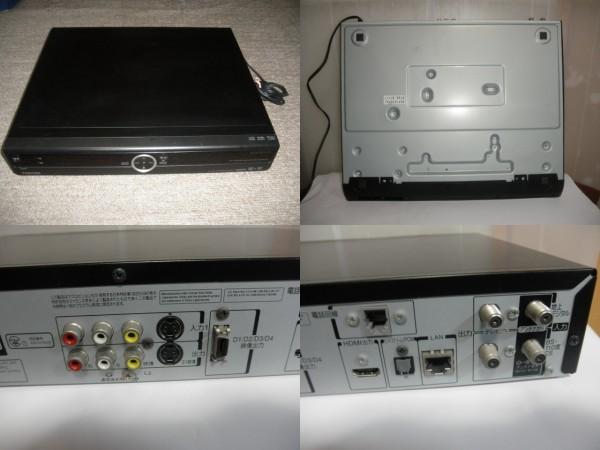 ジャンク品@@ 東芝 RD-E303 TOSHIBA HDD&DVDビデオレコーダー HDD内蔵 (リモコン&取説なし) 動作確認全てできておりません。_画像10