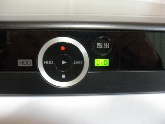 ジャンク品@@ 東芝 RD-E303 TOSHIBA HDD&DVDビデオレコーダー HDD内蔵 (リモコン&取説なし) 動作確認全てできておりません。_画像4