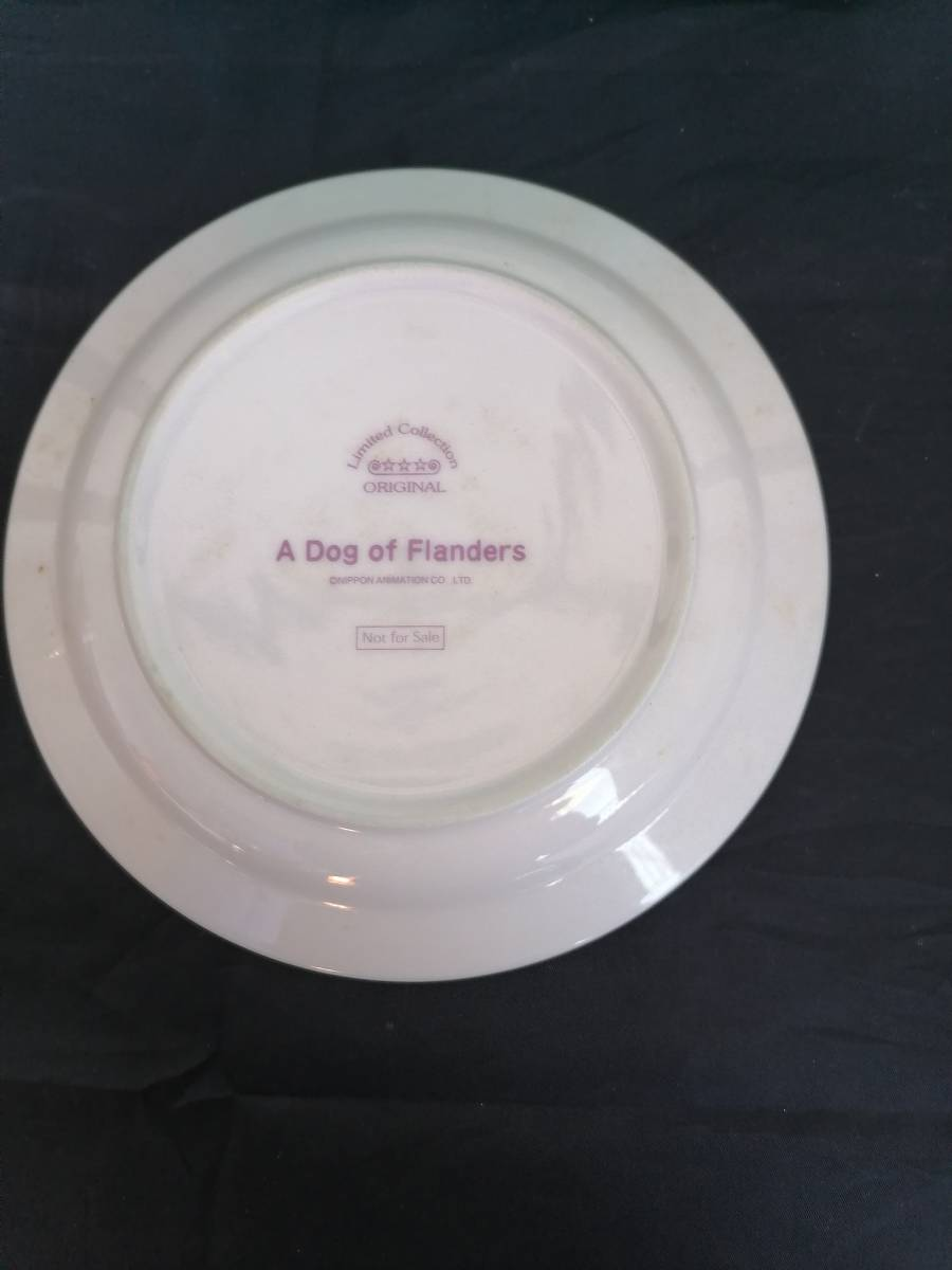 非売品 世界名作劇場  フランダースの犬 絵皿1枚セット 箱入り未使用品  プレート  飾り インテリア 春_画像3