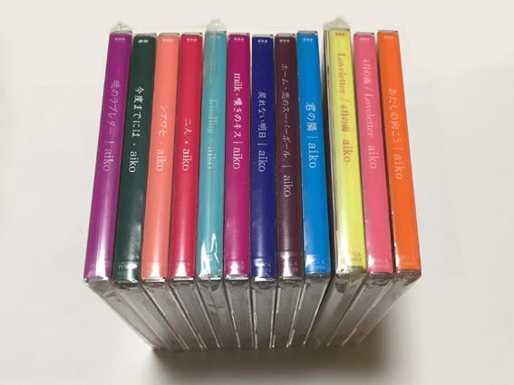 【新品】aiko『シアワセ、二人、君の隣、ホーム 他シングル11枚 アルバム1枚 初回盤 関西版 生産限定盤
