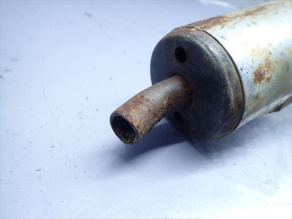 βBY31-3 ホンダ NS-1 AC12 NS1 (H5年式) 他車流用 マフラー サイレンサー サイレンサー部穴有!傷、凹み有!_画像2