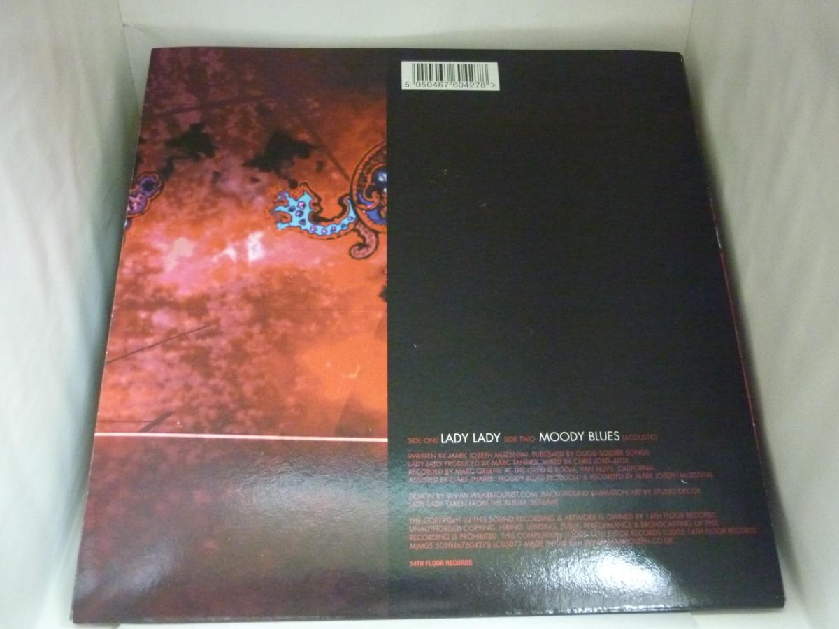 EPA4034 マーク・ジョセフ MARK JOSEPH / LADY LADY / MOODY BLUES / EU盤7インチEP 盤良好 ポスター付き ホワイトビニール_画像2