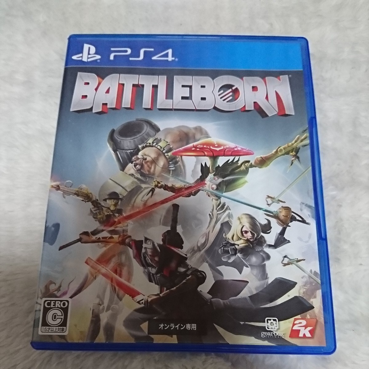 ps4 バトルボーン 中古ソフト