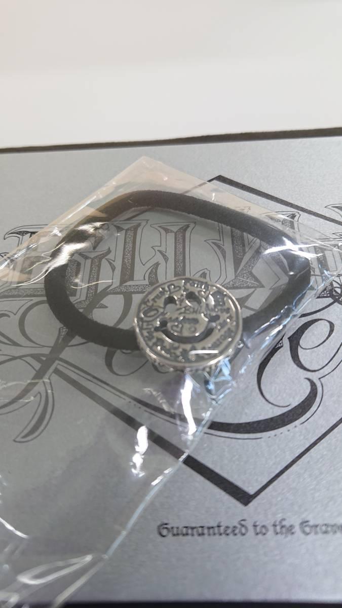 ビルウォールレザー BWL グラフィティハッピーフェイスヘアゴム 未使用品 ギャラカード 保存袋付き インポートブランド 売り切り 1円から