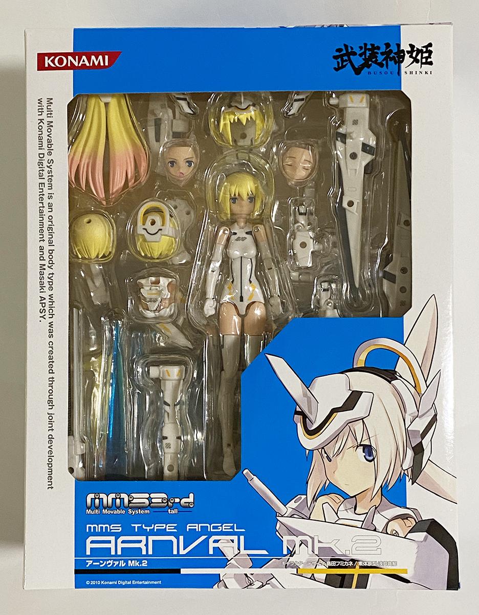 コナミ 武装神姫 アーンヴァル MK.2 コナミスタイル限定 新品未開封