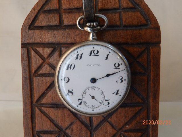懐中時計「カノト 辛」(かのっち)EMPIRE エンパイア 精工舎 セイコー 純正純銀ケース 葡萄彫金象嵌 seikosha 文字盤無傷 OH済お得です