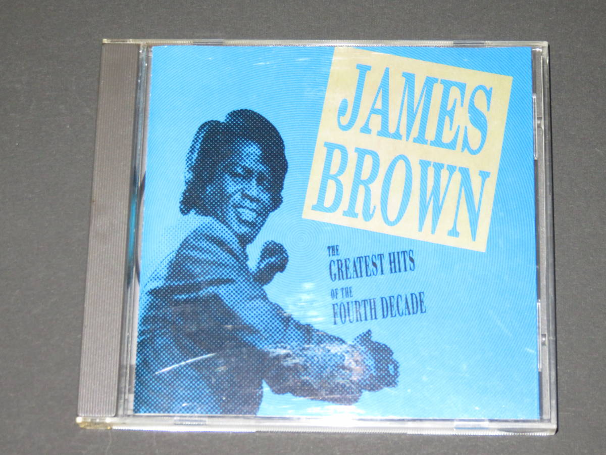 ◆James Brown◆ Greatest Hits Of The Fourth Decade ジェームス・ブラウン CD 輸入盤