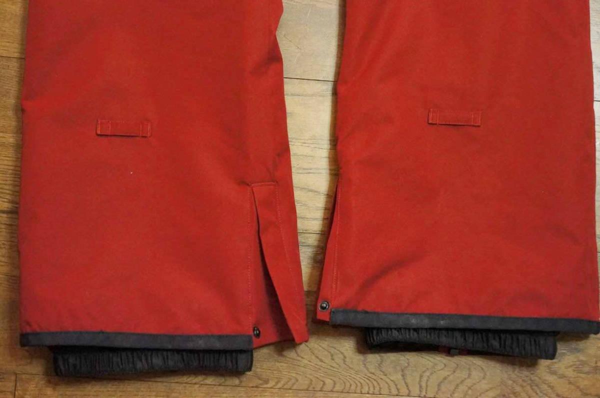 男性用 Billabong ビラボン スノーボードウエア ワーキングジャケット F6JM07 + Billabong ローダウンパンツ F6PM01 上下セット中古美品_画像7