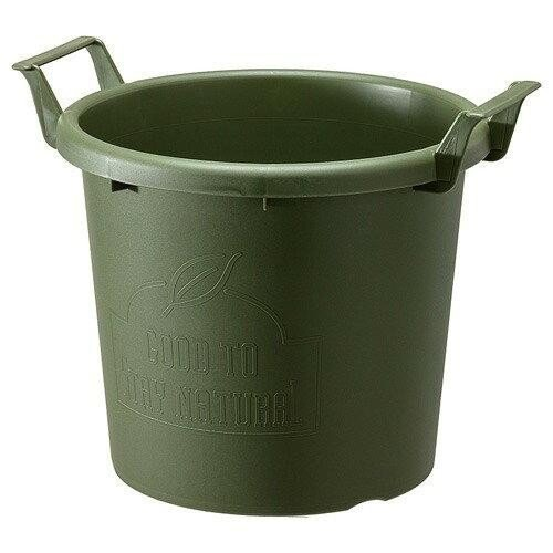 ☆即決 ♪遊び心のあるコンテナポット グロウコンテナ35型 グリーン カラー変更可能◆寄せ植え ギャザリング 草花 多肉植物 観葉植物_画像1