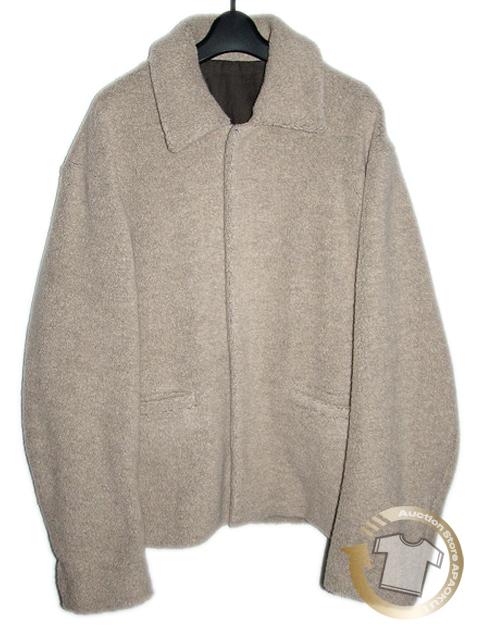 80■19AW ウルトーキョー URU TOKYO wool boa jacket アイボリー 2 完売_画像2