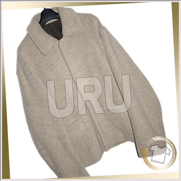 80■19AW ウルトーキョー URU TOKYO wool boa jacket アイボリー 2 完売_画像1