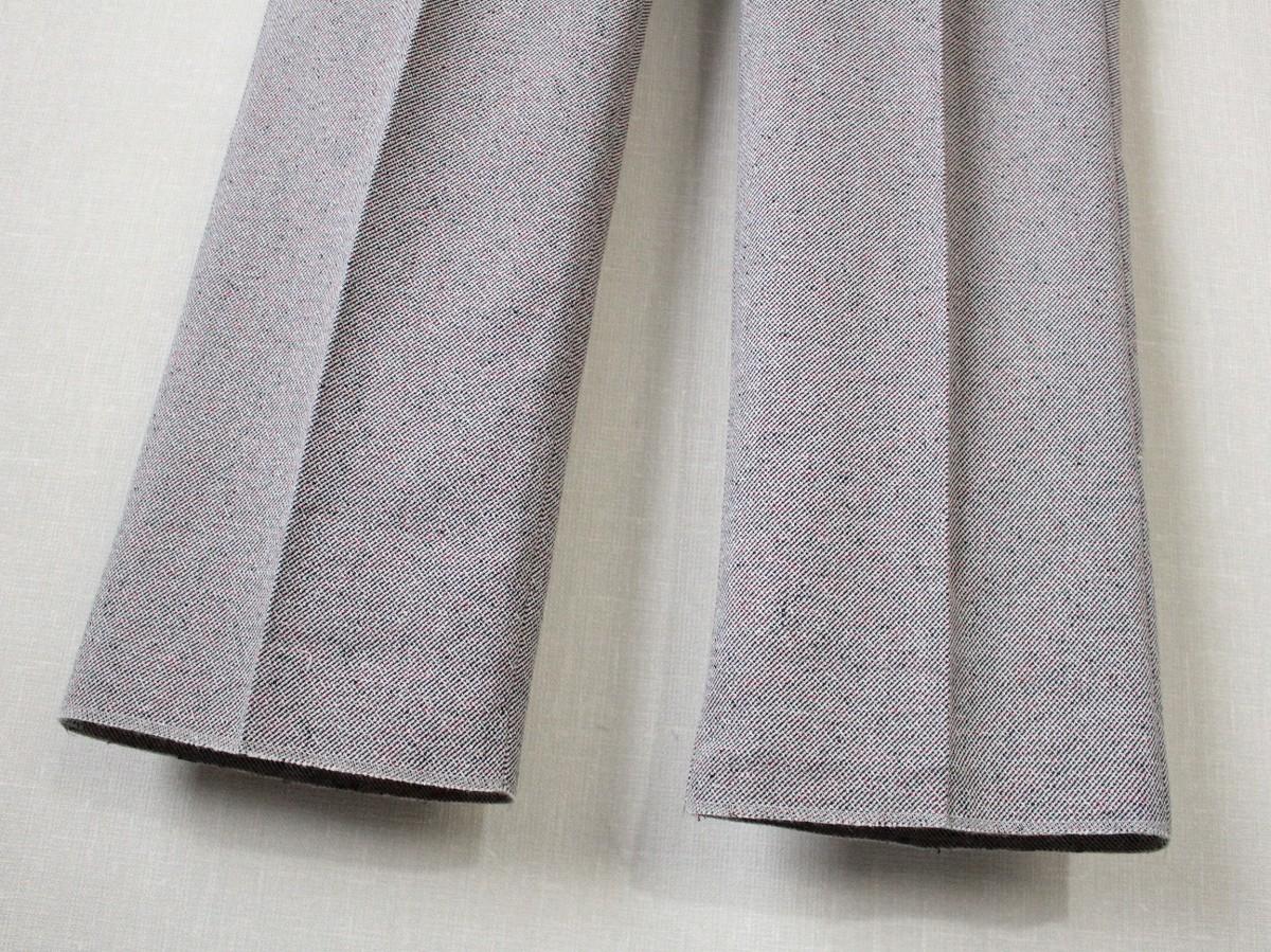 ドライボーンズ Dry Bones ★ ポリエステル/ウール混紡 2タック トラウザー Two Tuck Trousers サイズ32 パンツ ロカビリー ★_画像5