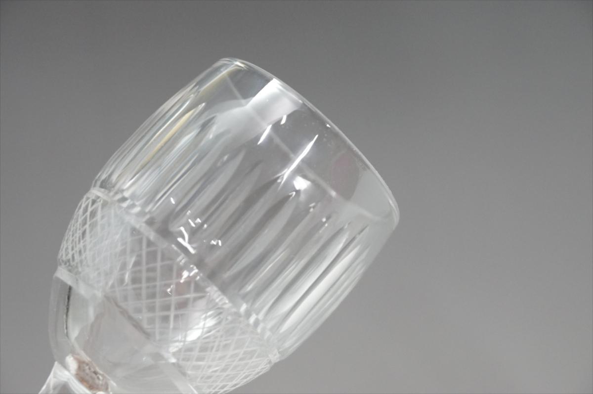 ★【新品・未使用】 高級切子 ワイングラス 透明  5客セット×15 75個 コップ  まとめて クリスタルガラス 大量在庫処分_画像3