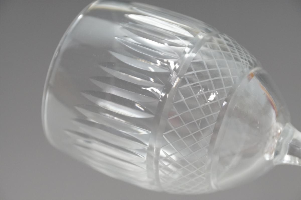 ★【新品・未使用】 高級切子 ワイングラス 透明  5客セット×15 75個 コップ  まとめて クリスタルガラス 大量在庫処分_画像8
