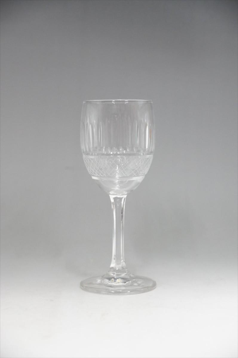 ★【新品・未使用】 高級切子 ワイングラス 透明  5客セット×15 75個 コップ  まとめて クリスタルガラス 大量在庫処分_画像2