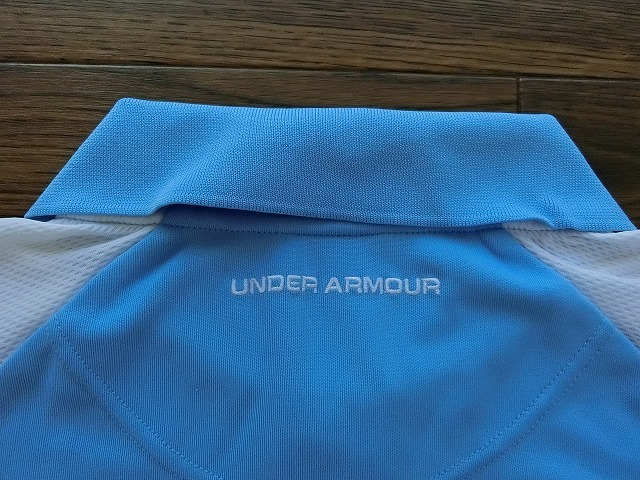 UNDER ARMOUR アンダーアーマー ポロシャツ MD USED_画像5
