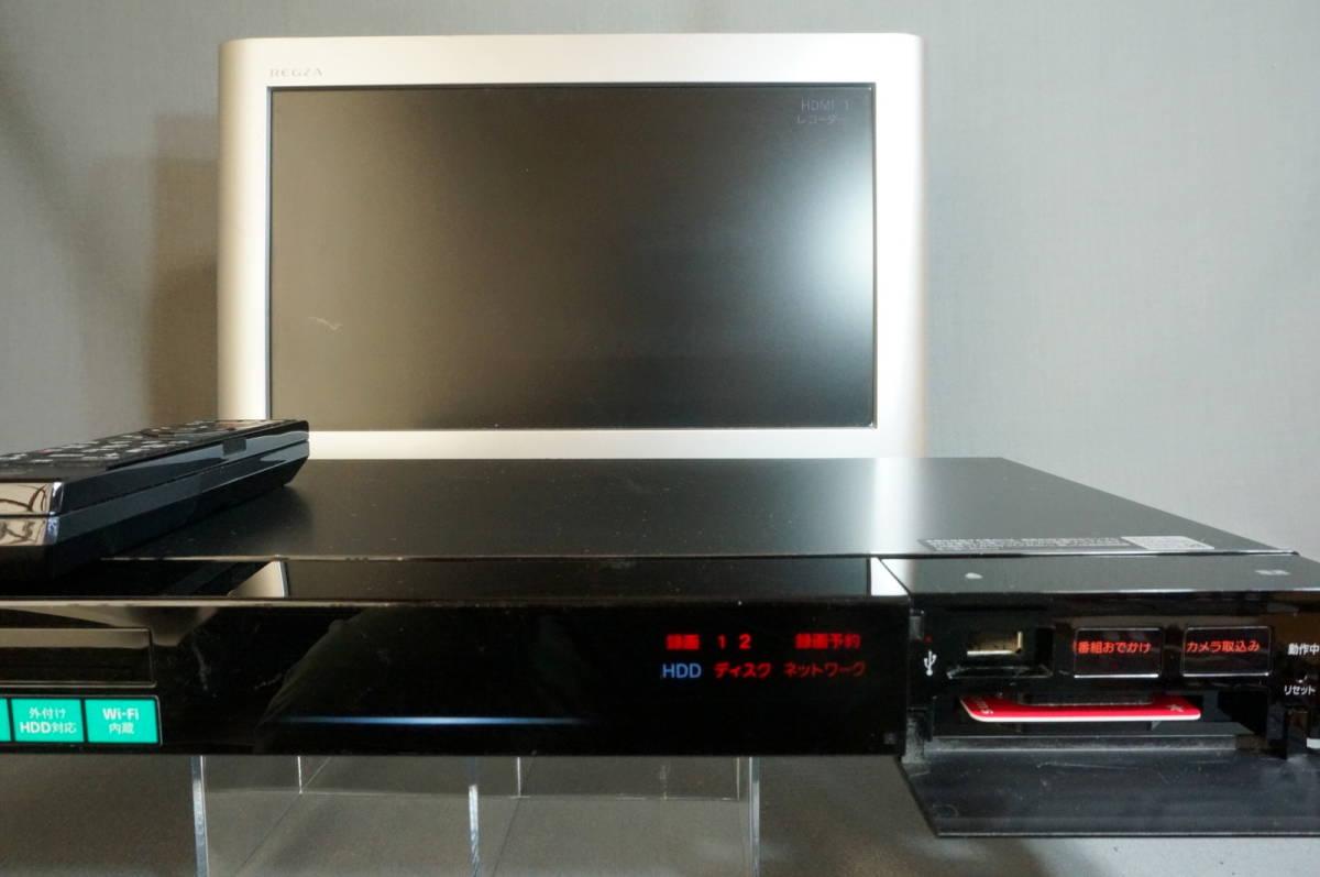SONY ソニー HDD BDレコーダー BDZ-EW520 15年製 リモコン付き ジャンク品 HSM _画像5