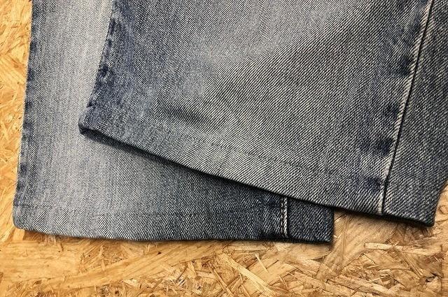 EDWIN US CLASSIC A-04 エドウィン W78 メンズ デニム ジーンズ ショートパンツ ハーフパンツ ショーツ ジップフライ 綿100% ブルー 青_画像6