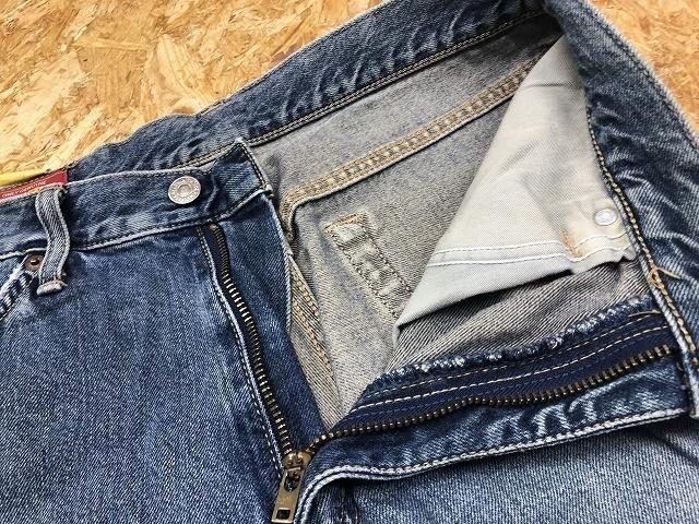 EDWIN US CLASSIC A-04 エドウィン W78 メンズ デニム ジーンズ ショートパンツ ハーフパンツ ショーツ ジップフライ 綿100% ブルー 青_画像4