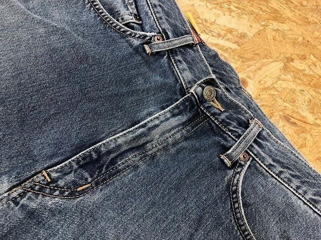 EDWIN US CLASSIC A-04 エドウィン W78 メンズ デニム ジーンズ ショートパンツ ハーフパンツ ショーツ ジップフライ 綿100% ブルー 青_画像9