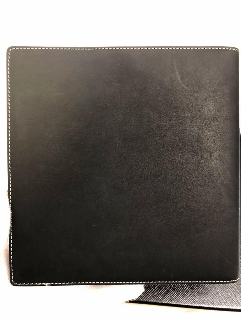 モンブラン 100周年 ブラック ノートカバー 未使用品 オルガナイザー ボールペン システム手帳 手帳カバー_画像3