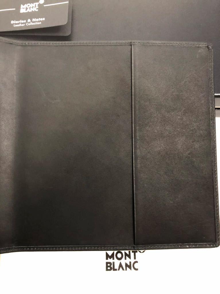 モンブラン 100周年 ブラック ノートカバー 未使用品 オルガナイザー ボールペン システム手帳 手帳カバー_画像6