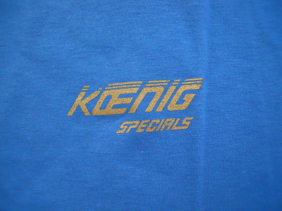新品!フェラーリ ベンツ ケーニッヒ koenigTシャツ L W126W124W201テスタロッサF40F348F355F360F456GT F50F458F512F512M F575F550 _画像4