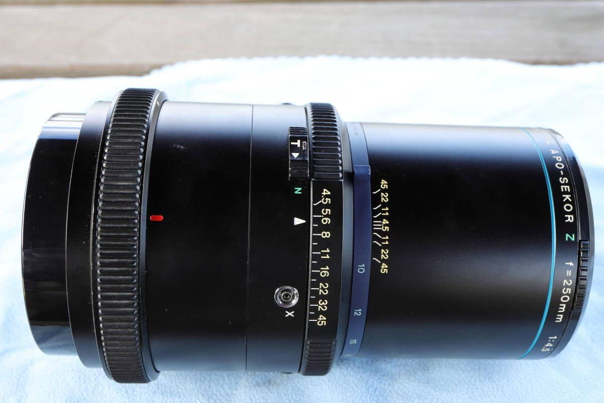 マミヤ MAMIYA APO SEKOR Z 250mm F4.5 11238 / RZ67 シリーズ レンズ