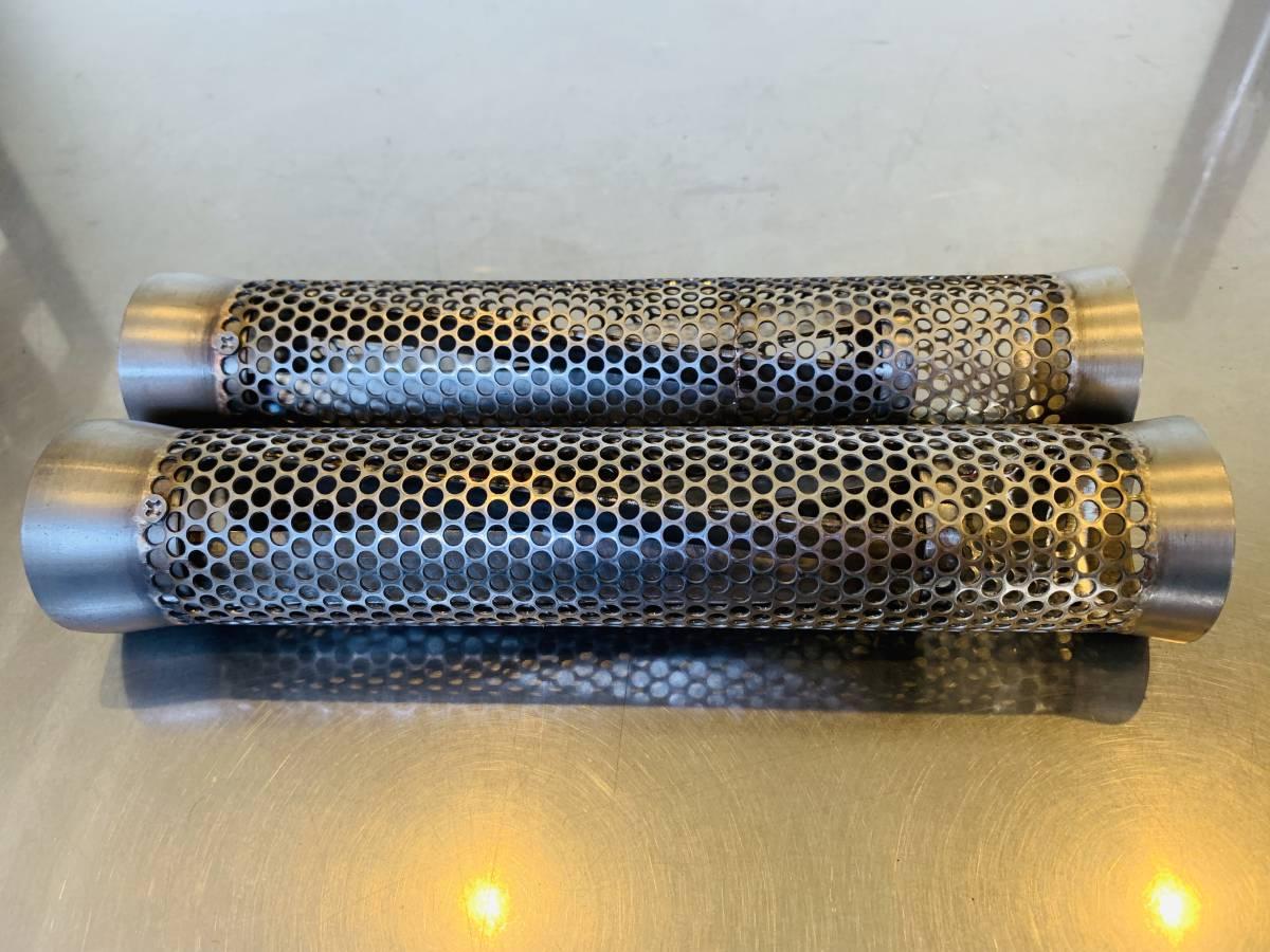 (0225)NEW インナーサイレンサー サイクロン入り 50.8パイ用 クレイジーオレンジオリジナル YAMAHA ヤマハ_画像2